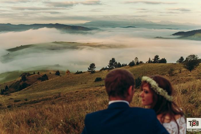 Agnieszka i Mateusz | plener w Pieninach